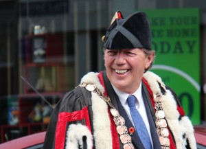 Mayor Tim Shadbolt in the SIT Parade