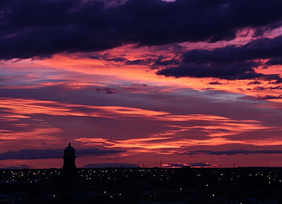 Invercargill sunrise 9 June 2015
