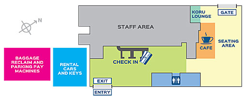Remproary terminal layout
