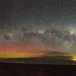 Milky Way AND an Aurora - photo by Elizabeth King