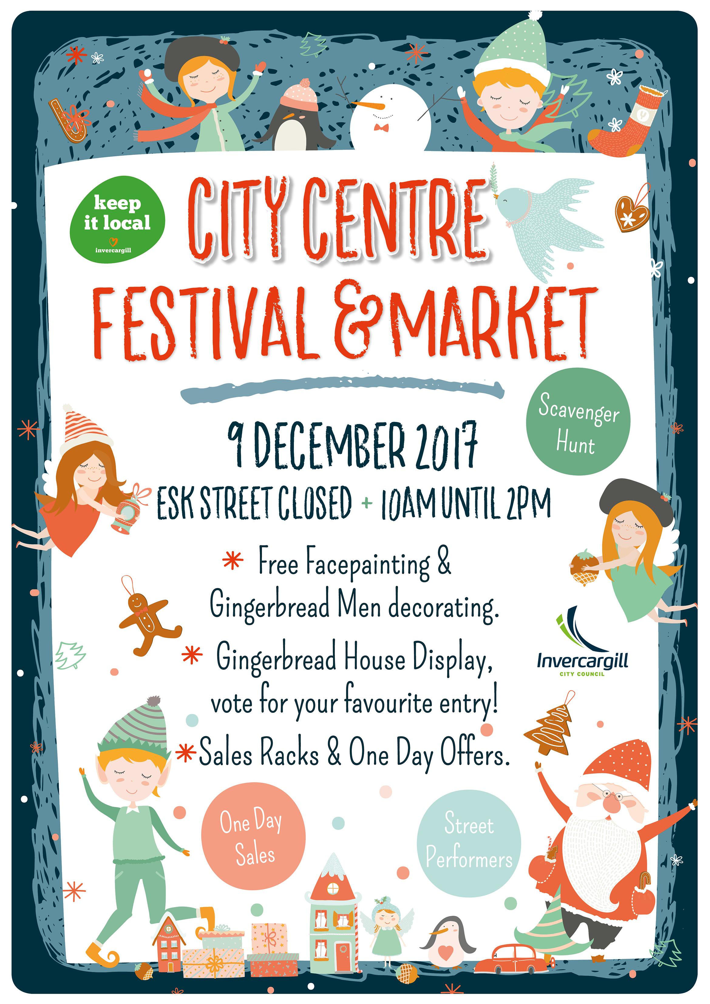 city centre festival and market