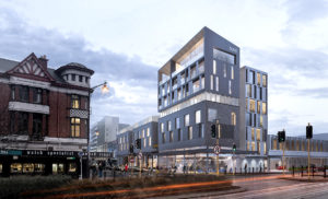 An artist's impression of the proposed ILT Hotel development.