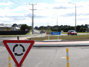Rockdale Road / Tweed Street roundabout